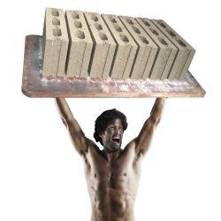 Автоматический пресс для производства кирпича4-20 Qt цемента и бетона полой Найджелом Пэйвером широко используется машина для формовки бетонных блоков в строительная техника