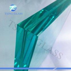 4-19mm liberi/hanno tinto il comitato laminato di vetro Tempered per la mobilia del portello della rete fissa di /Railing della stanza da bagno
