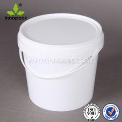 Пластиковое ведро емкостью 4 л с крышкой продовольственной ковш Сделано в Китае оптовая торговля