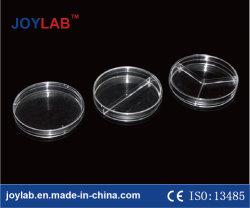 Capsula di Petri, Plastica o materiale a gettare di vetro, 90mm, trasparenti