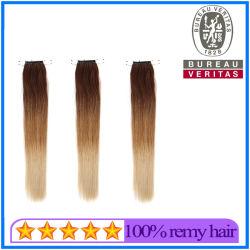 سعر المصنع Prodتخفض بائع الجملة 8-30بوصة تدرج لون العقد مؤشر الشعر تمديدات الشعر الشعر الشعر البكر الشعر البشرية