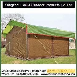 Professional métal Orange réfléchissante tente étanche extérieur revêtements de toit
