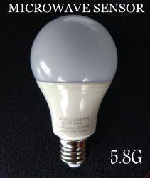 Nuova lampadina astuta del sensore di a microonde di 5.8g 2.8g LED con il sensore di radar per la lampada economizzatrice d'energia