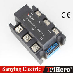 Интеллектуальная Трехфазный блок распределения питания регулятора напряжения сети переменного тока, SSR 4-20 Ма, SSR 0-10 В, SCR