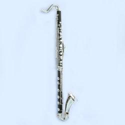 Cheap Clarinete bajo. Bajo C, compuesto de madera, instrumento musical clave chapados en plata.