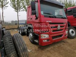 De vrij Gebruikte Uitstekende Vrachtwagen van de Tractor van Sinotruck van de Wielen van de Voorwaarde 375HP 10 6X4 HOWO Gebruikte voor Afrika