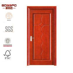 Составная отлитая в форму HDF дверь Veneer плоская деревянная (GSP8-019)
