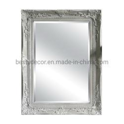 غلّة كرم صدئة رماديّ يلوّن أرضية مرآة إطار