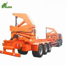 محاور Cimc 3 حاوية المقطورة شبه العامة للشاحنة ذات الحمل الجانبي للنقل الوصول إلى وحدة التجميع