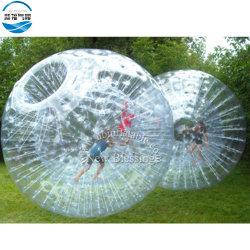 卸売によってPVC草の膨脹可能な歩くZorbのカスタマイズされる球