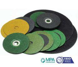 Roue de coupe abrasives de coupe et de meule pour le métal et en acier inoxydable