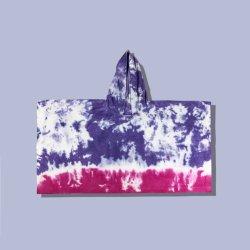 Kundenspezifische Blumen-Kontrast-Farbe Binden-Färben Hoodies