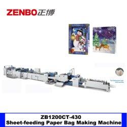 Borsa d'alimentazione dello strato stampata marchio di quattro colori sacco di carta macchina di formazione automatica