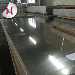 6061 5052 Grade Marine Solaire feuille en aluminium brossé prix réfléchissant