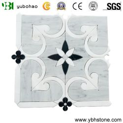 Material de construcción decorativos de mármol del mosaico de piedra irregular de la pared