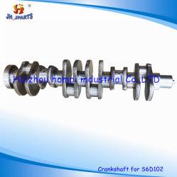 Коленчатый вал на детали экскаватора Komatsu S6d102/6D102 6375-31-1110 S4D102/S4d95/695/6D D125