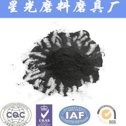 El polvo negro de purificación de agua de carbón activado