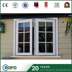 Painéis de duplo isolamento de som Vinil Francês Casement Windows