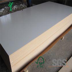 Blanc brillant UV haute 1220/2800mm feuilles MDF pour le Cabinet