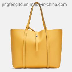 Personnalisé en cuir vegan PU Mesdames grand shopper Sac fourre-tout mode féminine Shopping sac à main avec sac à main