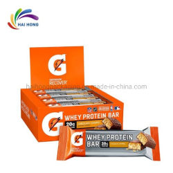 Grau alimentício impresso personalizado a vedação a quente a porca de frutos da energia de Chocolate Bar Wrap sacos de embalagem