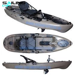 10pies Kayak Pesca nuevo pedal de pie o Paddle barco mar Bote Pedal Ciclo de venta