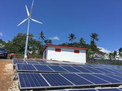새로운 직업적인 디자인 격자 사용 떨어져를 위한 최신 Seling 태양 모듈 바람 발전기 잡종 전원 시스템