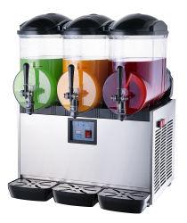 Lodo que hace la máquina del depósito de 3 bebida helada nieve Smoothie Maker