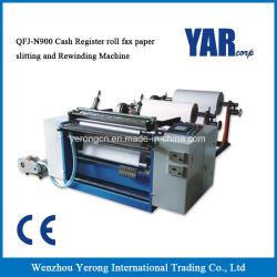 [هيغقوليتي] فاكس ورقة لف مقطع شقّ و [رويندر] آلة من الصين