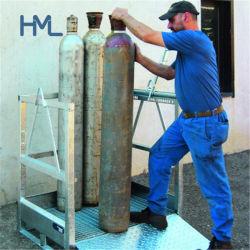 Contenitore gas per movimentazione pallet bombola di gas per stoccaggio GPL