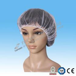 Réseaux de cheveu ou chapeau en nylon remplaçables d'ouvrier pour l'industrie