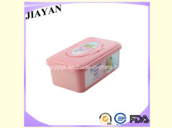 Pink Plastic Box Packing (PY035)를 가진 아기 Wet Tissue