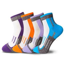 Cheville de coton tricotés Hosiery Terry Court Chaussettes Chaussettes à coussin d'athlétique