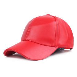 Gorra de cuero ajustable de deporte al aire libre Hat liviano; la tapa de la moda Esg13558 duradero