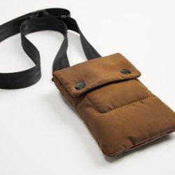 RFID unisex che ostruisce sacchetto di spalla della borsa del supporto del telefono delle cellule del collo del raccoglitore del corpo di corsa il mini per le donne