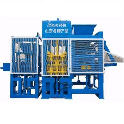 O cimento de alta pressão máquina para fabricação de tijolos de bloco de intertravamento de pressão hidráulica