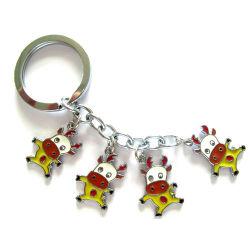OEM новых рекламных мягкий ПВХ 3D подарочная цепочки ключей