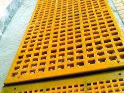 Malla de la pantalla de poliuretano Modular/Panel de pantalla de vibración de la pantalla de poliuretano utilizado en la industria Qurry