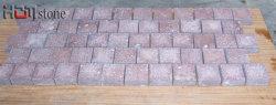 Pierre de granit porphyre rouge de galets