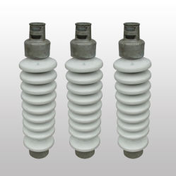 12kv-72.5kv Solid-Core porcelana Post aislante para línea de transmisión eléctrica de alta tensión