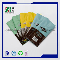 弁が付いている中国の工場側面のガセットのコーヒーパッキング袋