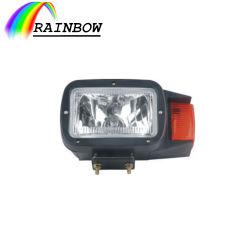 Precio más bajo de plástico piezas eléctricas electrónica 12V LED de 8 pulgadas de carretilla elevadora vehículo Auto /Lámpara de luz//faro para Honda