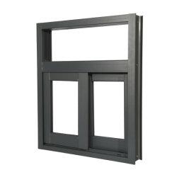 60 70 80 90 시리즈 빌딩 자료 슬라이딩 슬라이딩 창문 알루미늄 합금 프로파일 금속 프레임 Windows 알루미늄 상업용 도어
