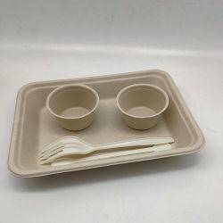 Le meilleur parti de la paille de blé de l'alimentation bac Bacs de 100 % de la vaisselle biodégradable
