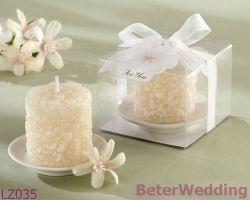 De nieuwe Unieke Kaars van de Cake van het Huwelijk van het Ontwerp