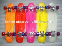 색깔 (TLC-401) 여러가지 Retro 플라스틱 스케이트보드