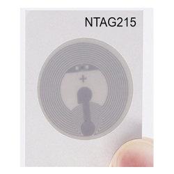 NFC Ntag215 Etiquetas NFC Ntag Blanco etiquetas 215 funciona perfectamente con Tagmo Amiibo habilitado para NFC y todos los teléfonos móviles y dispositivos con la forma de la Ronda de 25mm