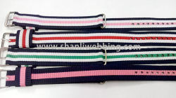 18mm bracelet de l'OTAN, à rayures Bracelet Polyester