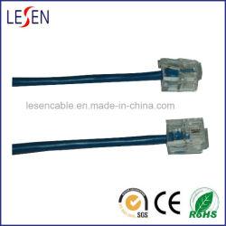 6p2c Round cabos de telefone com PVC/PE/LSZH Jacket