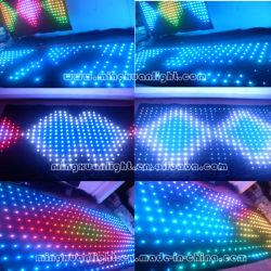 Custom цветной RGB 3в1 светодиодный занавес видео освещения